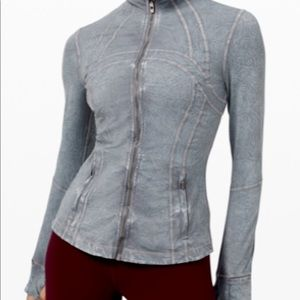 Lulu lemon define ice grey jacket